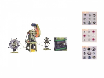 TI-100 Metal Button (Eyelet) Making Machine